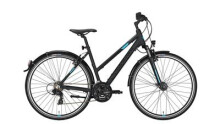 Trekkingbike Conway CC 300 Trapez black matt/blue -44 cm