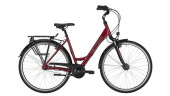 "Citybike Victoria Trekking 1.7 Wave 28"" berry red/black"