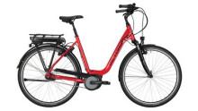 "E-Bike Victoria e Trekking 5.6SE Deep 26"" rasperry red/black"