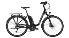 "E-Bike Victoria e Trekking 6.3 Deep 28"" black/skyblue"