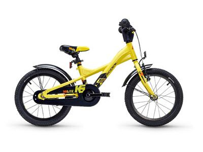 S´cool XXlite alloy 16 yellow / black 2018