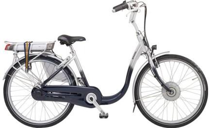 Sparta Entree F7i Freilauf, City-E-bike mit besonders tiefem Einstieg. 7-Gang Nabenschaltung.
