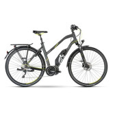 Husqvarna Bicycles Light Tourer LT3, Shimano Mittelmotor, Akku 500 Wh, 10-Gang SLX Shimano Kettenschaltung, Damen.