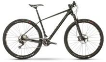 Mountainbike Raymon NINERAY 8.0 Carbon Hardtail Schwarz