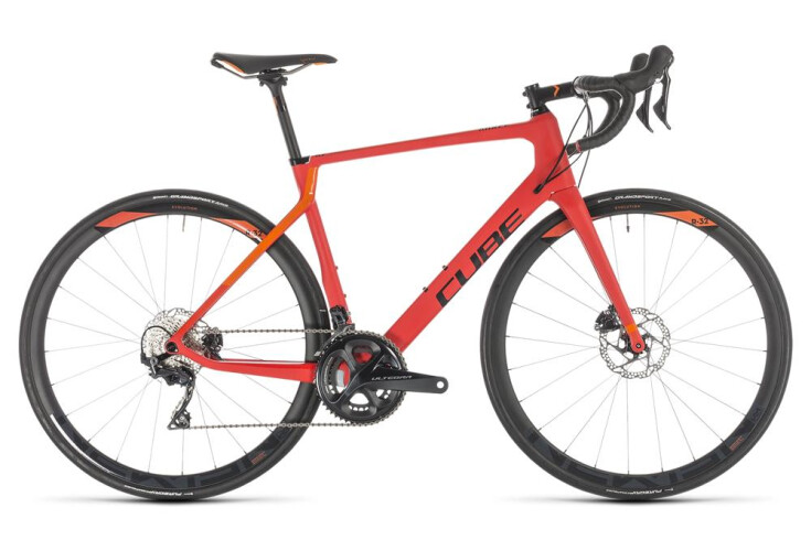 Agree C:62 Race Disc - rot-orange