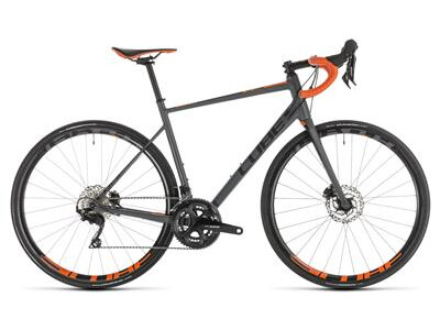 Cube Attain SL Disc grey´n´orange 2019
