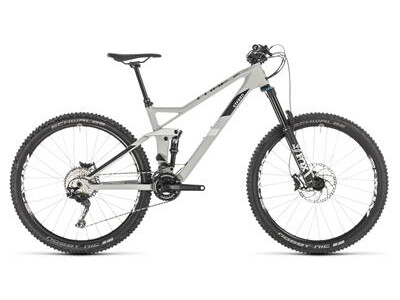 Cube Stereo 140 HPC Race grey´n´white 2019