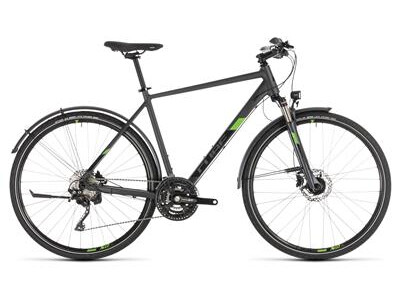 Cube Cross Allroad iridium´n´green 2019 Herren