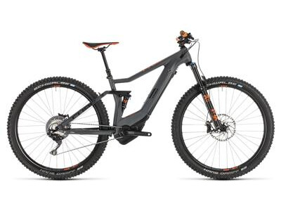 Cube Stereo Hybrid 120 HPC TM 27,5 grey´n´orange 2019