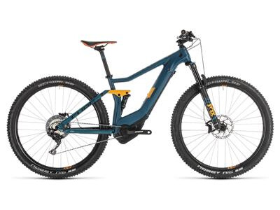 Cube Stereo Hybrid 120 HPC SL 27,5 pinetree´n`orange 2019