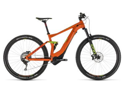 Cube Stereo Hybrid 120 Race 500 orange´n´green