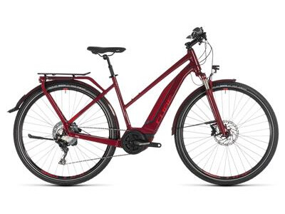 Cube Touring Hybrid EXC 500 Damen darkred´n´red 2019