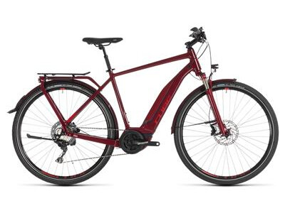 Cube Touring Hybrid EXC 500 Herren darkred´n´red 2019