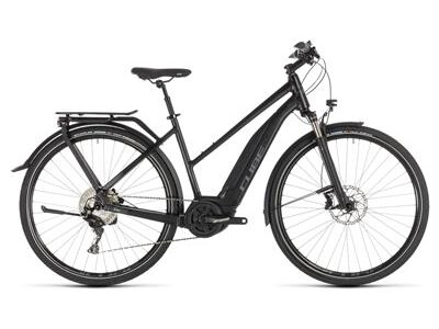 Cube Touring Hybrid EXC Damen 500 black´n´grey 2019