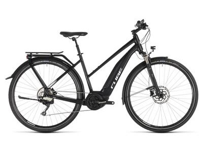Cube Touring Hybrid Pro 500 Damen black´n´white 2019