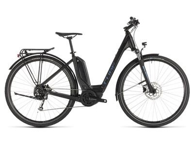 Cube Touring Hybrid ONE 500 Damen Tiefeinstieg black´n´blue 2019