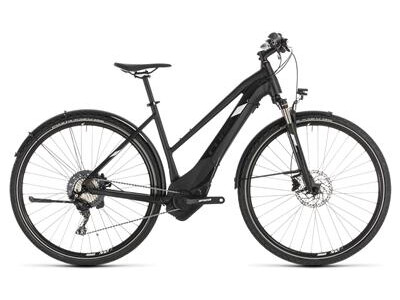 Cube Cross Hybrid Race 500 Allroad Damen black´n´white 2019