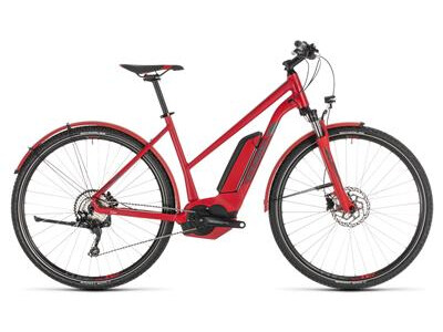 Cube Cross Hybrid Pro 500 Allroad Damen red´n´grey 2019