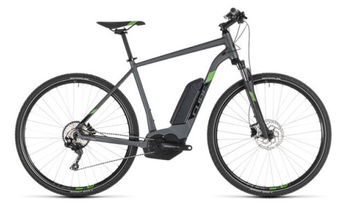 Cube Cross Hybrid Pro 500 iridium n green