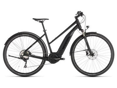 Cube Cross Hybrid EXC 500 Allroad Damen black´n´grey 2019