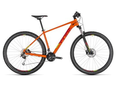 Cube Analog 29er orange-n-red 2019