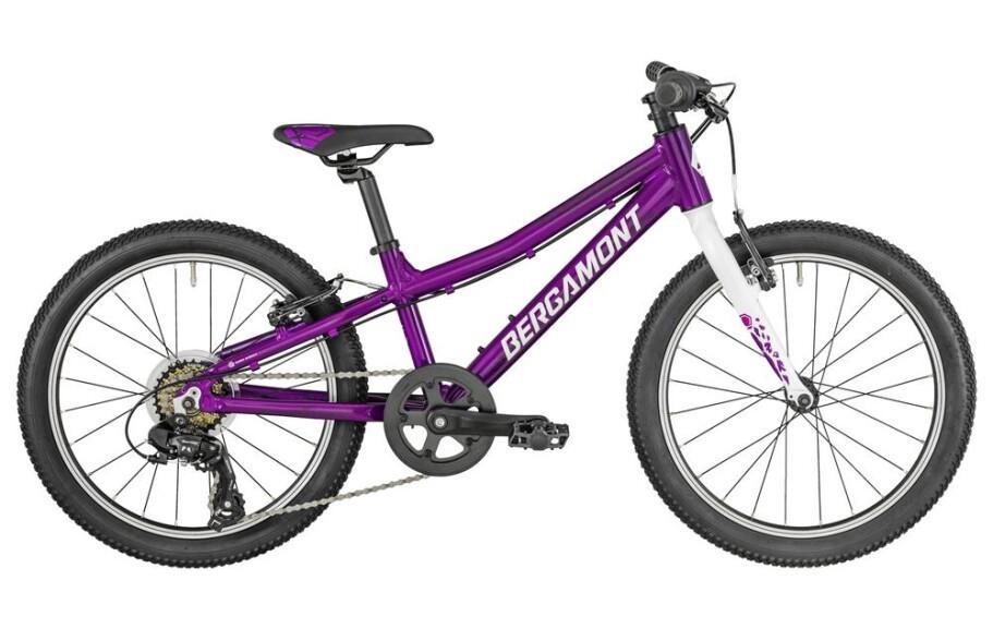 Bergamont Bergamonster Girl 2019 purple/white/pink (shiny)