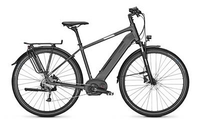 Raleigh KENT LTD, Trekkingbike mit 8-Gang-Kettenschaltung, starker Akku mit 13.4 Ah