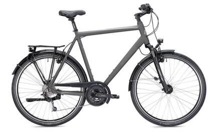 Morrison T 5.0 Plus, Herren, bis 170kg Gesamtgewicht Trekkingbike mit 27-Gang Shimano Kettenschaltung