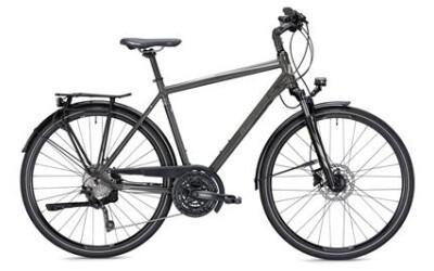 MORRISON T 5.0, Trekkingbike mit 30-Gang Shimano Kettenschaltung, Suntour Federgabel, 35LUX Scheinwerfer, He.