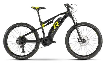 Raymon E-Seven, Fully E-bike mit Yamaha Antrieb, Akku leistet 500Wh.