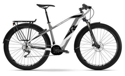 Raymon E-Tourray 8.0, Trekking E-bike mit Yamaha Antrieb, Akku leistet 500Wh.