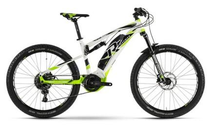 Raymon E-Seven Fullray 7.0, Fully E-bike mit Yamaha Antrieb, Akku leistet 500Wh.