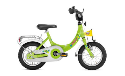 Puky ZL 12-1 kiwigrün, 12 Zoll Kinder-Fahrrad mit Alu-Rahmen und Rücktrittbremse