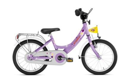 Puky ZL 16-1 Alu, Flieder, 16 Zoll Kinder-Fahrrad mit Alu-Rahmen und Rücktrittbremse.