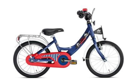 Puky ZL 16-1 Alu, Captain Sharky, 16 Zoll Kinder-Fahrrad mit Alu-Rahmen und Rücktrittbremse.