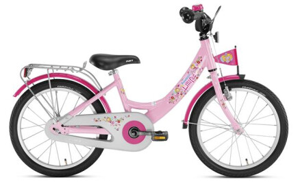 Puky ZL 18-1 Alu, Prinzessin Lillifee, 18 Zoll Kinder-Fahrrad mit Rücktrittbremse