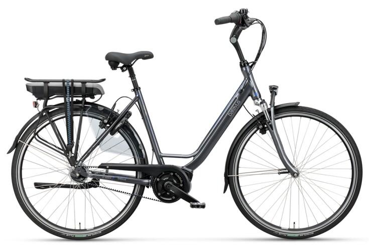 GARDA E-GO Exclusive, Damen E-Bike mit Bosch-Mittelmotor, Akku 500 Wh (13,4 Ah), Gates Riemen.