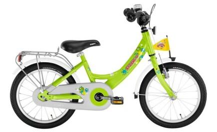 Puky ZL 16 Alu, kiwi, 4225, 16 Zoll Kinder-Fahrrad mit Alu-Rahmen und Rücktrittbremse.