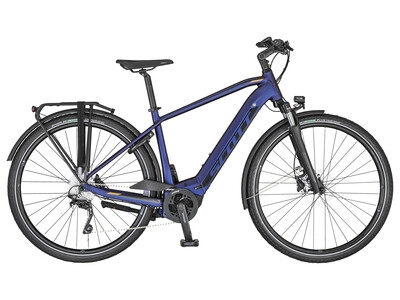 Scott Sub Tour eRide 10 blue, black and havanna 2020