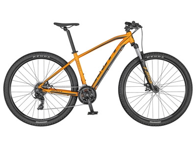 Scott Aspect 970 orange and dark grey 2020