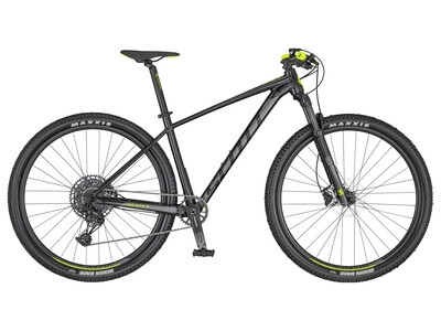 Scott Scale 970 black steel grey and yellow 2020