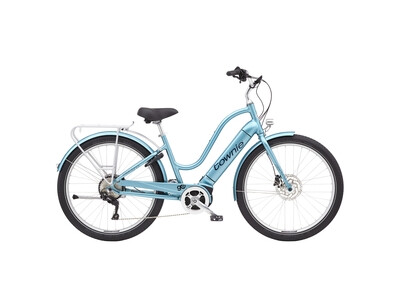 Electra Bicycle Townie Path Go! Aqua Metallic