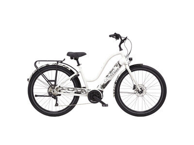 Electra Bicycle Townie Path Go! Pearl White