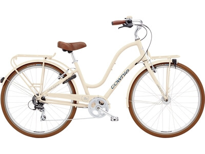 Electra Bicycle Townie Commute 8D EQ Ladies Cream