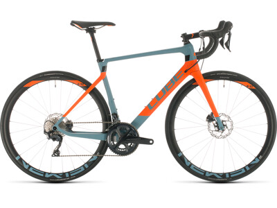 Cube Agree C:62 Race bluegrey´n´orange 2020
