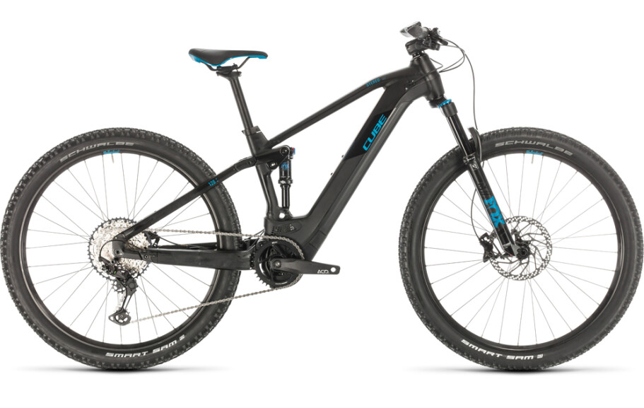 Cube Stereo Hybrid 120 Race 625 black blue