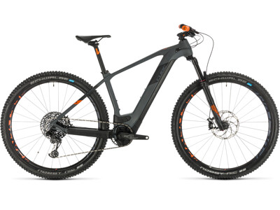 Cube Elite Hybrid C:62 Race 29 grey´n´orange 2020