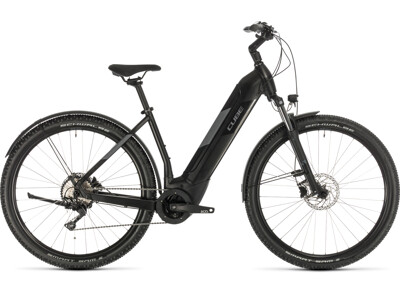 Cube Nuride Hybrid Pro 625 Allroad black´n´grey Easy Entry
