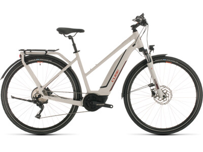 Cube Touring Hybrid Pro 500 grey´n´red 2020 Trapeze