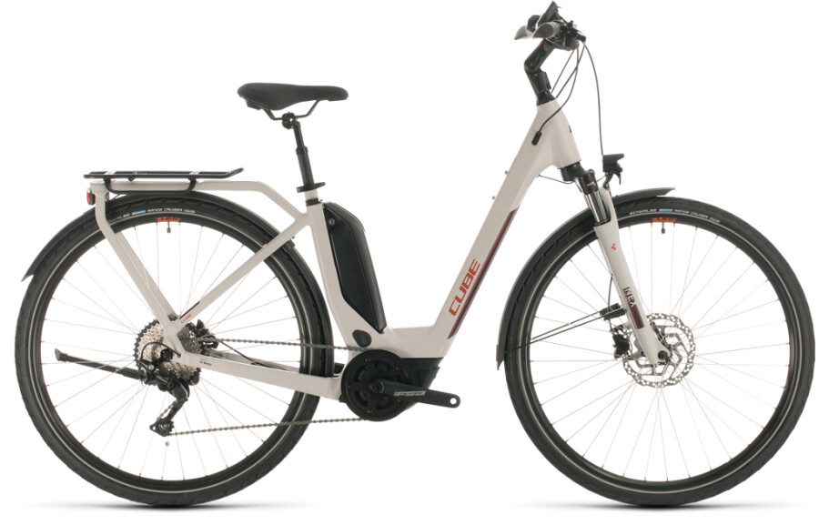 Cube Touring Hybrid Pro 400 grey´n´red
